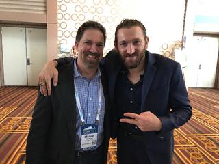 Michael Redman with Ezra Firestone