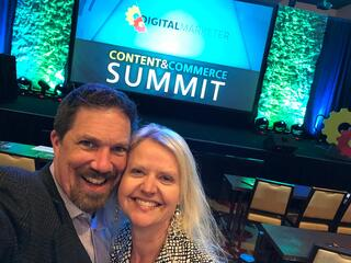 Michael and Kathryn Redman at Digital Marketer Conference