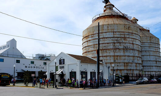 Magnolia in Waco Texas