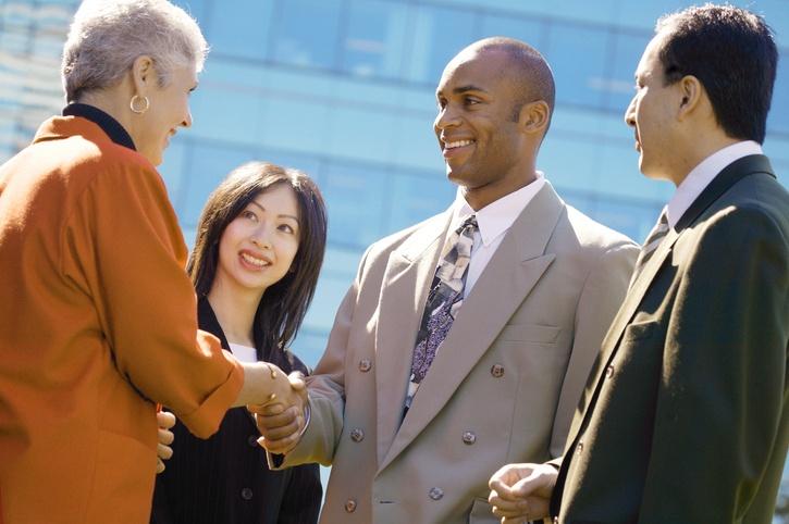 Business leaders marketing