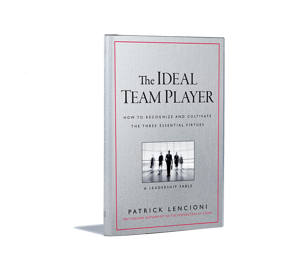 book cover of the ideal team player